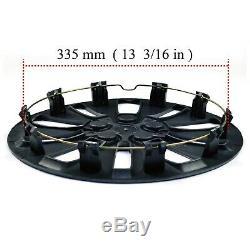 14 Wheel Hub Center Caps Cover Set of 4 for 14 inch Full Rim Wheel 10 Spoke