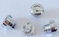 150 x Chrome Silver Plastic Wheel Rivets Nuts Rim Lip Replacement Alloys Stud J2