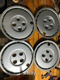 1984-1987 Honda Civic Wheel Hubcap Rim Cover 13 Factory OEM Silver (Set of 4)