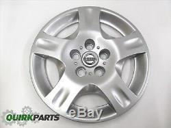 2002-2004 Nissan Altima 16 Silver 5 Spoke Rim Hub Cap Wheel Cover OEM Hubcap