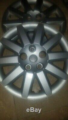 2007 2010 Chrysler Sebring Wheel Hubcap Rim Cover 16 Factory OEM SET OF 4