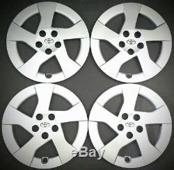 4 New Toyota Prius Hubcap Wheel Rim Cover 2010 2011 2012 2013 2014 2015 10 11