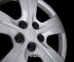 4 fit 2016-2018 Chevy Cruze L LS 15 Bolt On Wheel Covers Hub Caps fit Steel Rim