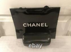 $490. Chanel Current 2021 Sty. Pantos Silver Tweed Metal Inside Rim NEW