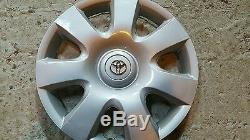 61115 Toyota Camry 7 Spoke 1 Hubcap Wheel Cover 15 New 2002 2003 2004 Rim