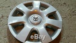 61115 Toyota Camry 7 Spoke Hubcap Wheel Cover Rim 15 New 2002 2003 2004