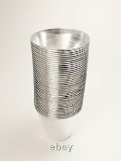 9oz Fancy Disposable Rimmed Cups Gold, Silver, Rose Gold (Wholesale, Bulk)