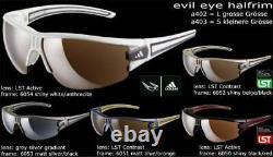 Adidas Evil Eye half Rim A 403 168 6054 S Sunglasses Wheel Run Ski Golf