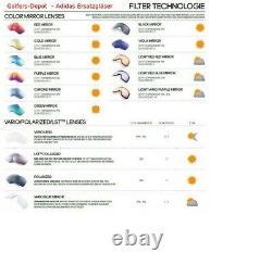 Adidas evil eye half Rim and Pro S A 402 A 403 A 167 A 168 New Removable Lenses