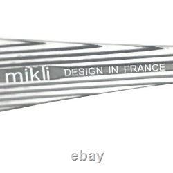 Alain Mikli ML0733 0020 Sunglasses Glasses Frames Half Rim Silver Clear 140
