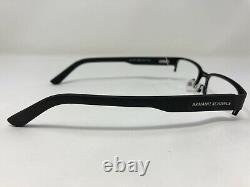 Armani Exchange Eyeglasses Frame AX 1014 6063 53-17-145 Black Half Rim XX92