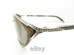 BRIGHTON Ellington A10825 DESIGNER SUNGLASSES cat eye horn-rim 53-16-135 98087