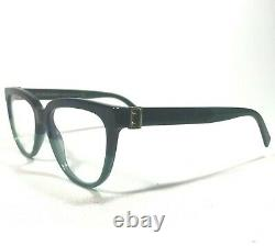 Burberry Sunglasses Glasses Frames Blue Green Cat Eye Full Rim B2268 3677 140