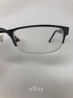 CHESTERFIELD CH840 Eyeglasses Frame Italy Half Rim 52-16-140 Silver/Tort BJ10