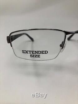 COLUMBIA HOO DOO Eyeglasses Frame Half Rim 59-19-150 Silver/Camo Matte CZ50