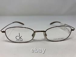 Calvin Klein Eyeglasses Frame 5302 225 50-18-145 Brown Full Rim C888