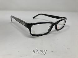 Calvin Klein Eyeglasses Frames CK7795 001 Black Silver Full Rim QR47