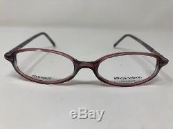 Candies Eyeglasses Frame C. MARIAH RO 47-17-135 Pink/Silver Full Rim JZ91