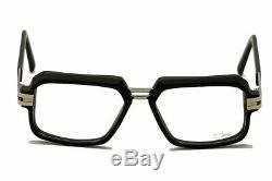 Cazal Eyeglasses 6004 002 Matte Black/Silver Full Rim Optical Frames 56mm