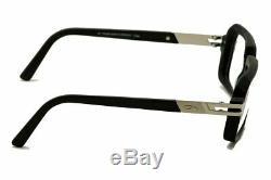 Cazal Eyeglasses 6004 Matte Black/Silver 002 Full Rim Optical Frames 56mm