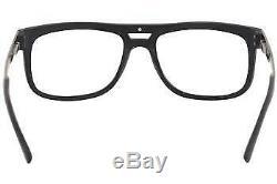 Cazal Men's Eyeglasses 6017 005 Matte Black/Silver Full Rim Optical Frame 55mm