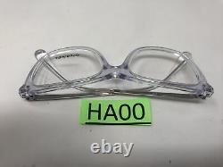 Chanel Eyeglasses Frames3379 C. 660 Silver Clear 52-17-140 Italy Full Rim HA00