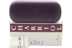Charriol Eyeglasses PC7475 PC/7475 C8 Titanium/Grey Half Rim Optical Frame 53mm