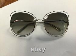 Chloe sunglasses model CE119s 733 60 18 double rim. Silver