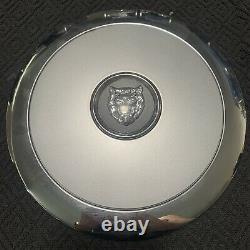 D BROKEN CLIPS Jaguar XJ8 2W93-1A096-DA X350 OEM Wheel Rim Center Hub Cap Cover