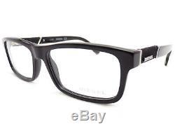 Diesel Rimmed Glasses Frames Spectacles Black / Silver DL5126 002