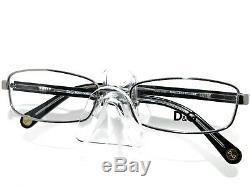Dolce & Gabbana Eyeglasses D&G 5090 1005 Silver Black Full Rim Frame 5217 135