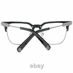 Dsquared2 DQ 5243 Unisex Silver Optical Frame Metal Plastic Full Rim Eyeglasses
