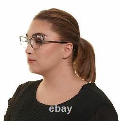 Dsquared2 DQ 5255 Women Silver Optical Frame Plastic Crystal Full Rim Eyeglasses