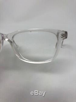 ERNEST HEMINGWAY 4617 Eyeglasses Frame 52-17-140 Crystal Horned Rim/Silver OS68