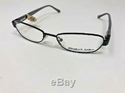 Elizabeth Arden EA1055-1 52-17-130 Black Silver Flex Hinge Full Rim EE29