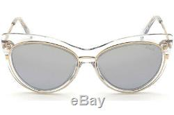 Emilio Pucci EP 108 Clear Gold 27X Cat Eye Sunglasses Frame 57-17-145 EP0108
