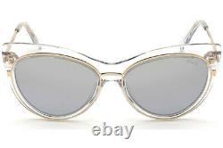 Emilio Pucci EP 108 Clear Gold 27X Cat Eye Sunglasses Frame 57-17-145 EP0108