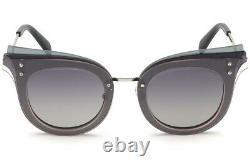 Emilio Pucci EP104 Black 20B Cat Eye Glass Sunglasses Frame 66-15-140 EP0104