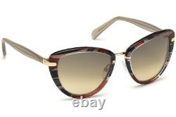 Emilio Pucci EP11 20B Mix Multi Colored Cat Sunglasses Frame 56-19-135 EP0011