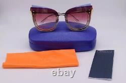 Emilio Pucci Multicolor Cat Eye Sunglasses Frame 66-15-140 NWT