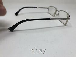 Emporio Armani Eyeglass Frame EA 1003 3015 54-16-135 Silver Black Full Rim HS34