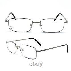 Eyeglasses Cartier Santos Rimmed T-Eye T8100805 Titanium New And Authentic