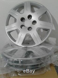 Fits Honda Civic 06-11 16 bold on hubcaps silver wheel covers 7 spoke rim 4 pcs