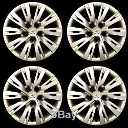Four 16 2007- 2014 Original Oem Toyota Camry Hubcaps Rim Wheel Covers 570-61163