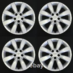 Four 16 Toyota Corolla 2014-2016 Oem Hubcaps Wheel Covers Rim Covers 61172
