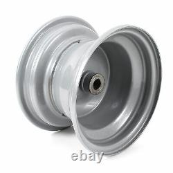 Genuine OEM Husqvarna Front Rim Assembly (Silver) 8X5 for Lawn Mower, 532148736