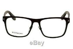 Givenchy Eyeglasses GV 0011 GV/0011 10G Black/Silver Full Rim Optical Frame 55mm