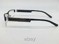 Glasses Black Blue Silver Öga 6706O Marius Morel half Rim Size M New
