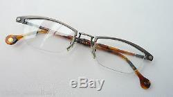 Glasses Frames half Rim Klassiklook Extravagant Frame Metal + Horn Optics Size L