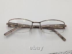 Glasses Silver Rodenstock 4704 half Rim Lightweight Rectangular Size M New +